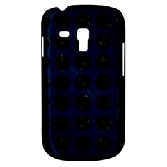 Circles1 Black Marble & Blue Grunge (r) Samsung Galaxy S3 Mini I8190 Hardshell Case by trendistuff