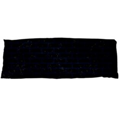 Brick1 Black Marble & Blue Grunge Body Pillow Case (dakimakura) by trendistuff