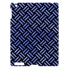 Woven2 Black Marble & Blue Watercolor Apple Ipad 3/4 Hardshell Case by trendistuff