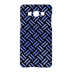 Woven2 Black Marble & Blue Watercolor Samsung Galaxy A5 Hardshell Case  by trendistuff