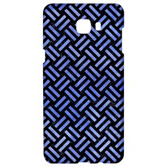 Woven2 Black Marble & Blue Watercolor Samsung C9 Pro Hardshell Case  by trendistuff