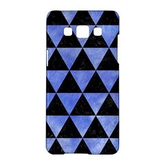 Triangle3 Black Marble & Blue Watercolor Samsung Galaxy A5 Hardshell Case  by trendistuff