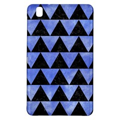 Triangle2 Black Marble & Blue Watercolor Samsung Galaxy Tab Pro 8 4 Hardshell Case by trendistuff
