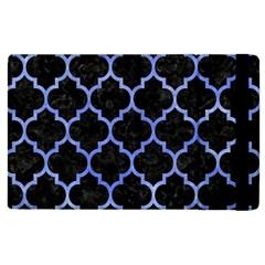 Tile1 Black Marble & Blue Watercolor Apple Ipad Pro 9 7   Flip Case