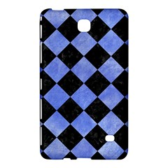 Square2 Black Marble & Blue Watercolor Samsung Galaxy Tab 4 (8 ) Hardshell Case  by trendistuff