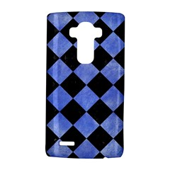 Square2 Black Marble & Blue Watercolor Lg G4 Hardshell Case by trendistuff