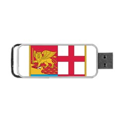 Coat Of Arms Of The Italian Navy Portable Usb Flash (one Side) by abbeyz71