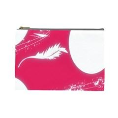 Hintergrund Tapete Texture Cosmetic Bag (large)  by Nexatart
