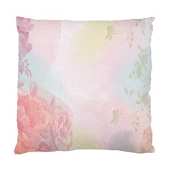 Watercolor Floral Standard Cushion Case (one Side) by Nexatart