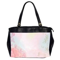 Watercolor Floral Office Handbags (2 Sides)  by Nexatart