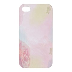 Watercolor Floral Apple Iphone 4/4s Hardshell Case by Nexatart