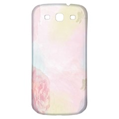Watercolor Floral Samsung Galaxy S3 S Iii Classic Hardshell Back Case by Nexatart