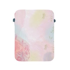 Watercolor Floral Apple Ipad 2/3/4 Protective Soft Cases by Nexatart