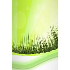 Green Background Wallpaper Texture 5 5  X 8 5  Notebooks by Nexatart