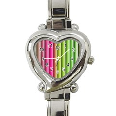 Vertical Blinds A Completely Seamless Tile Able Background Heart Italian Charm Watch by Nexatart