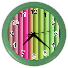 Vertical Blinds A Completely Seamless Tile Able Background Color Wall Clocks by Nexatart