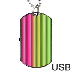 Vertical Blinds A Completely Seamless Tile Able Background Dog Tag Usb Flash (one Side) by Nexatart
