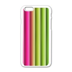 Vertical Blinds A Completely Seamless Tile Able Background Apple Iphone 6/6s White Enamel Case by Nexatart