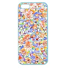Lovely Floral 31d Apple Seamless Iphone 5 Case (color) by MoreColorsinLife