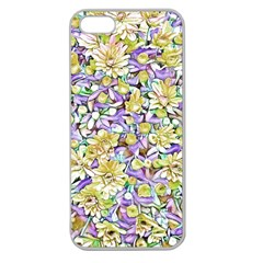 Lovely Floral 31e Apple Seamless Iphone 5 Case (clear) by MoreColorsinLife