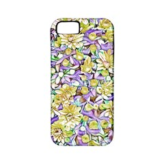 Lovely Floral 31e Apple Iphone 5 Classic Hardshell Case (pc+silicone) by MoreColorsinLife