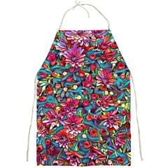 Lovely Floral 31a Full Print Aprons by MoreColorsinLife