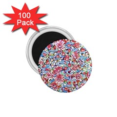 Lovely Floral 31f 1 75  Magnets (100 Pack)  by MoreColorsinLife