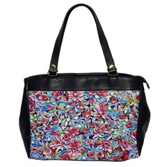 Lovely Floral 31f Office Handbags by MoreColorsinLife