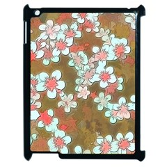 Lovely Floral 29 A Apple Ipad 2 Case (black) by MoreColorsinLife