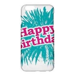 Happy Brithday Typographic Design Apple Iphone 6 Plus/6s Plus Hardshell Case by dflcprints