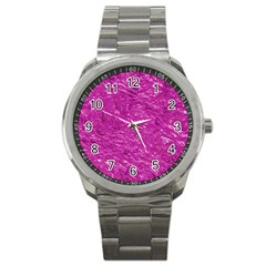 Thick Wet Paint C Sport Metal Watch by MoreColorsinLife