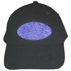 Thick Wet Paint H Black Cap by MoreColorsinLife