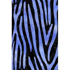 Skin4 Black Marble & Blue Watercolor (r) 5 5  X 8 5  Notebook by trendistuff