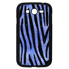 Skin4 Black Marble & Blue Watercolor Samsung Galaxy Grand Duos I9082 Case (black) by trendistuff