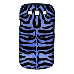 Skin2 Black Marble & Blue Watercolor Samsung Galaxy S Iii Classic Hardshell Case (pc+silicone) by trendistuff