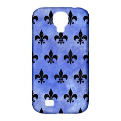 Royal1 Black Marble & Blue Watercolor Samsung Galaxy S4 Classic Hardshell Case (pc+silicone) by trendistuff