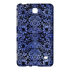 Damask2 Black Marble & Blue Watercolor Samsung Galaxy Tab 4 (7 ) Hardshell Case  by trendistuff