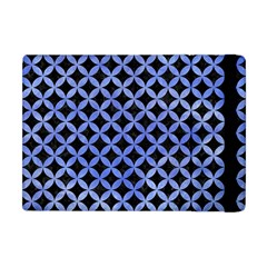 Circles3 Black Marble & Blue Watercolor Apple Ipad Mini Flip Case by trendistuff
