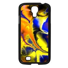 Fractal Art Pattern Cool Samsung Galaxy S4 I9500/ I9505 Case (black) by Nexatart