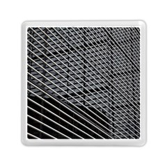 Abstract Architecture Pattern Memory Card Reader (square)  by Nexatart