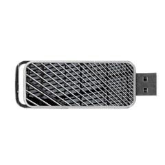 Abstract Architecture Pattern Portable Usb Flash (two Sides) by Nexatart