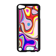 Colourful Abstract Background Design Apple Ipod Touch 5 Case (black) by Nexatart