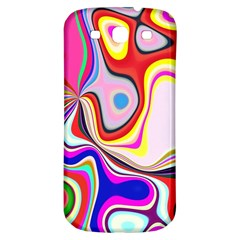 Colourful Abstract Background Design Samsung Galaxy S3 S Iii Classic Hardshell Back Case by Nexatart