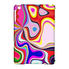 Colourful Abstract Background Design Apple Ipad Mini Hardshell Case (compatible With Smart Cover) by Nexatart
