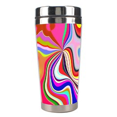 Colourful Abstract Background Design Stainless Steel Travel Tumblers by Nexatart