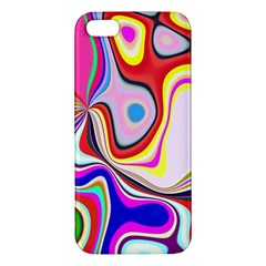 Colourful Abstract Background Design Iphone 5s/ Se Premium Hardshell Case by Nexatart