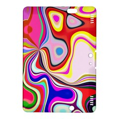 Colourful Abstract Background Design Kindle Fire Hdx 8 9  Hardshell Case by Nexatart