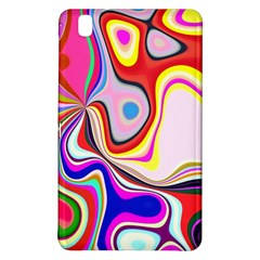Colourful Abstract Background Design Samsung Galaxy Tab Pro 8 4 Hardshell Case by Nexatart