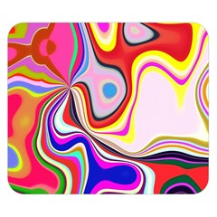 Colourful Abstract Background Design Double Sided Flano Blanket (small)  by Nexatart