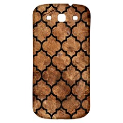 Tile1 Black Marble & Brown Stone (r) Samsung Galaxy S3 S Iii Classic Hardshell Back Case by trendistuff